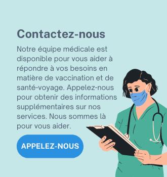Contacter la clinique du voyageur de Montréal